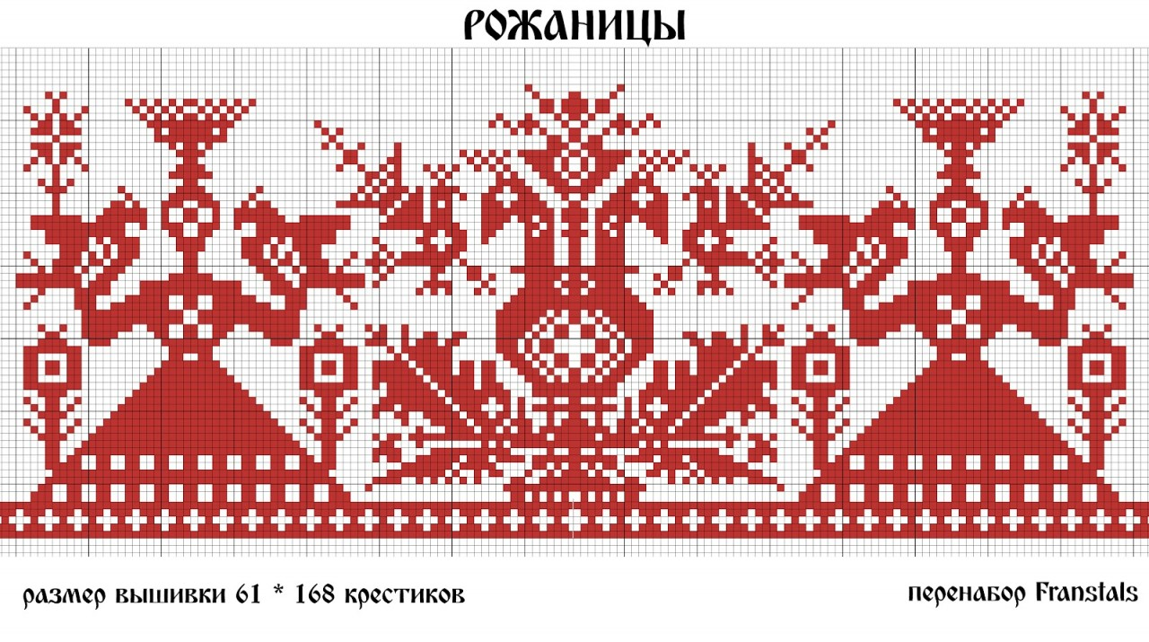 украинские мотивы схемы машинной вышивки