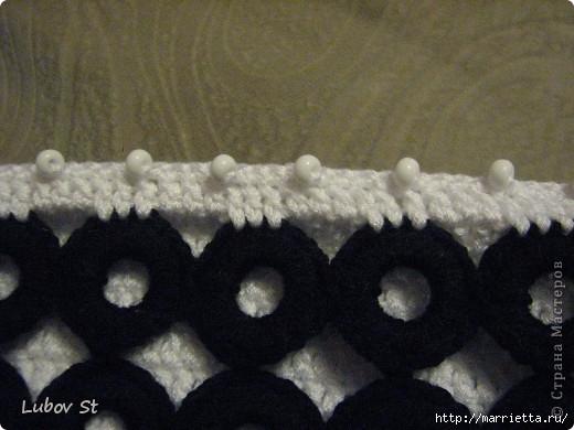 Сумочка из колец с бисером. Вязание крючком без отрыва ниток (22) (520x390, 116Kb)