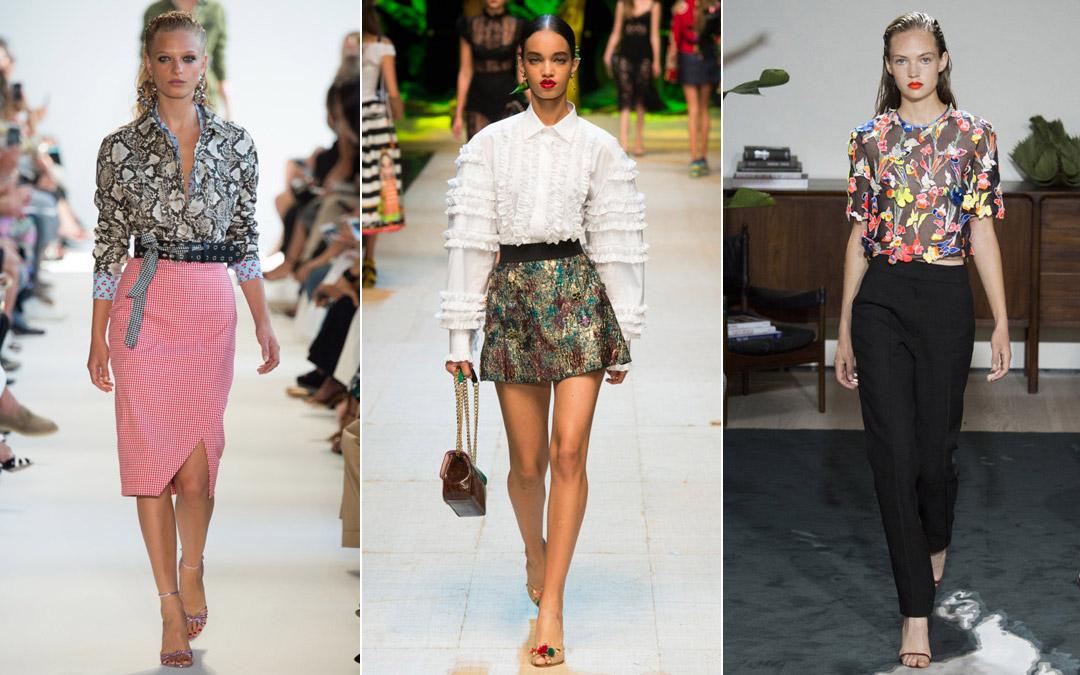 Модные блузки сезона весна/лето 2017