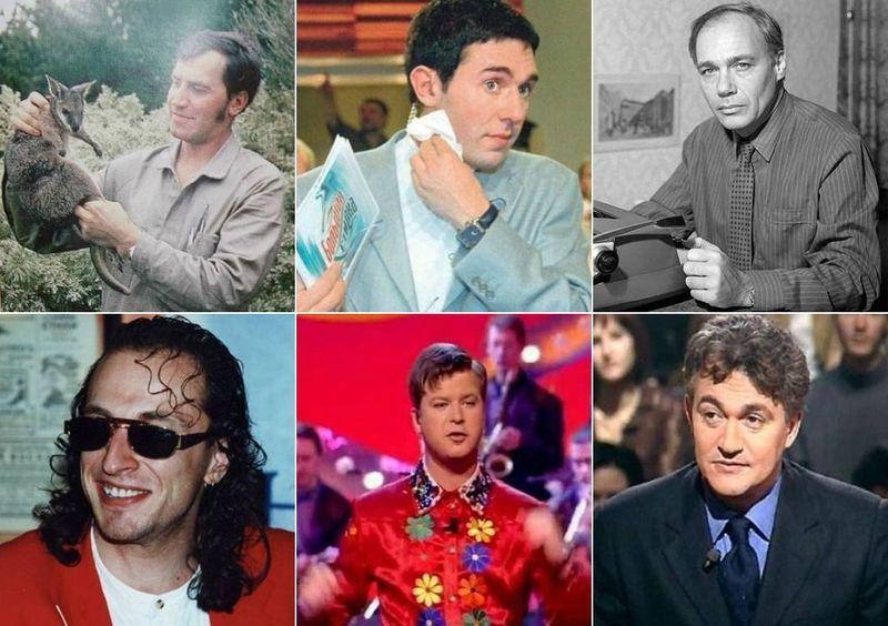 Звезды российского телевидения в начале карьеры и сейчас