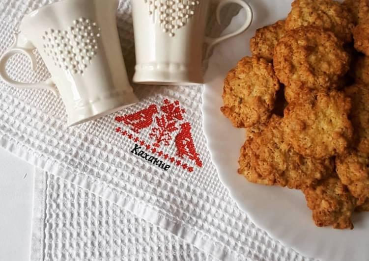 Хрустящее печенье с апельсином и грецкими орехами recipe main photo