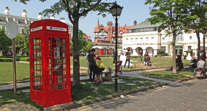 Английский город посреди Китая: 14 фото города Темза возле Шанхая