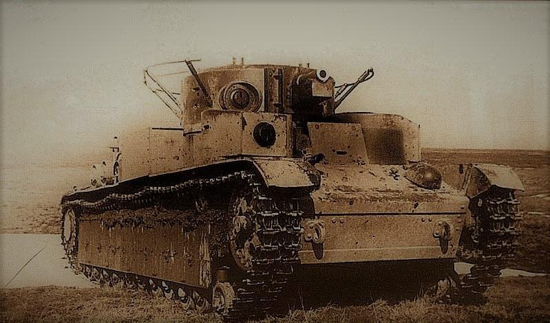 Огненный прорыв. День танкиста, Т-28, вов, история