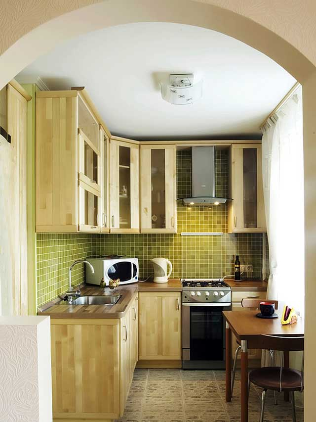 Декор кухни маленькой