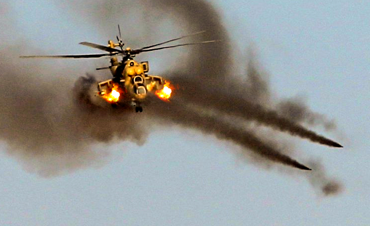 Русский Ми-35 оказался не по зубам ПЗРК боевиков в Ираке