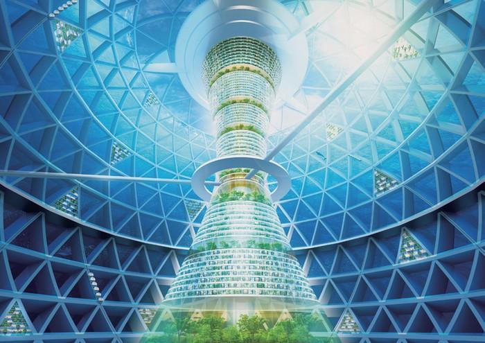 Ocean Spiral от корпорации Shimizu – первый в истории подводный город