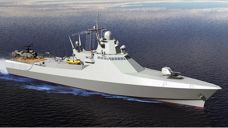 США восхитились российскими кораблями проекта 22160