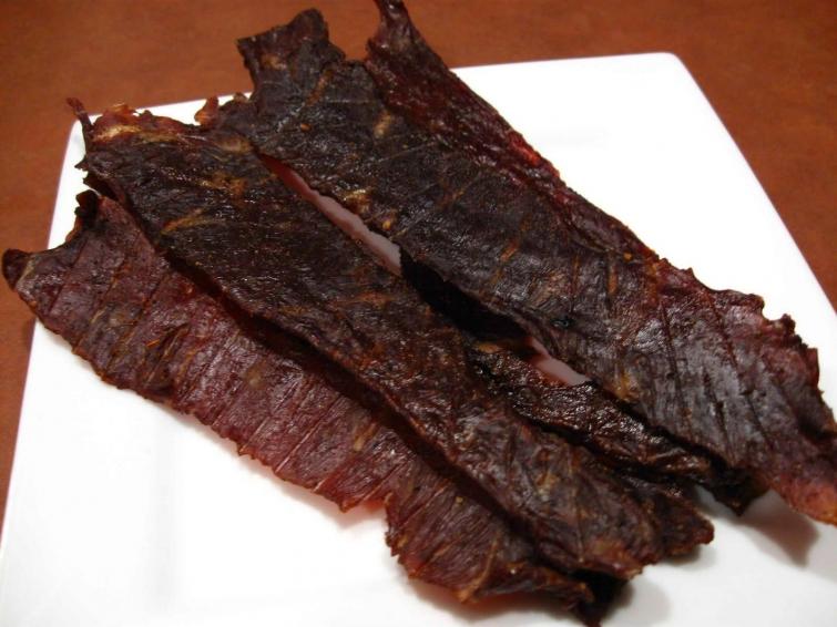 Вяленое мясо к пиву в домашних условиях