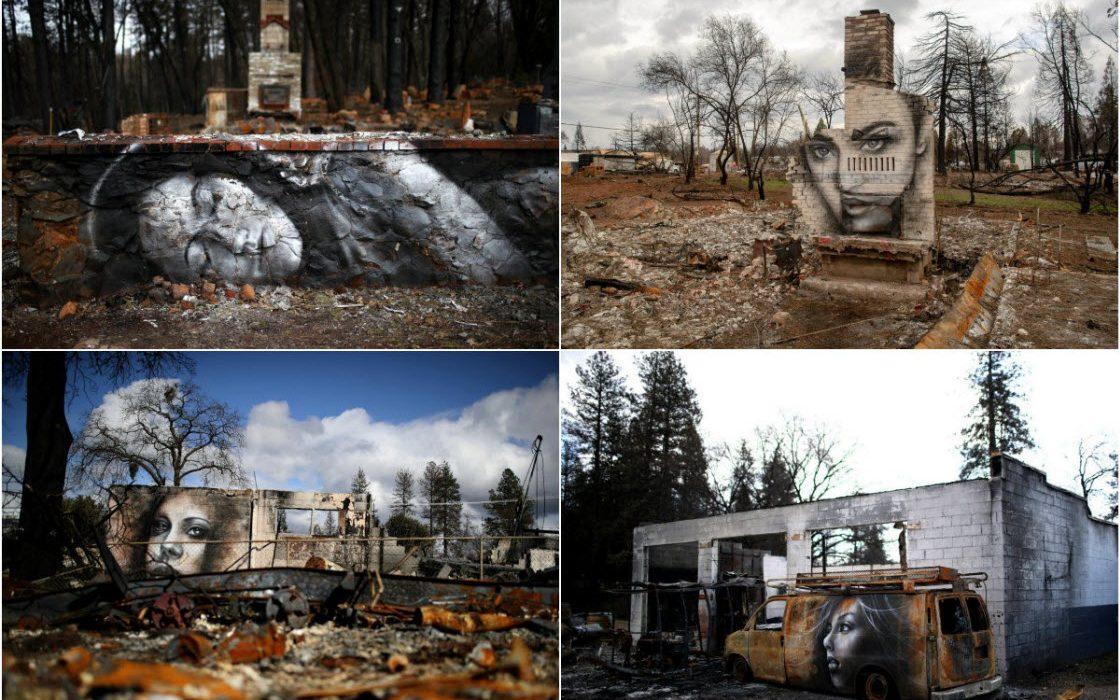 Восставшие из пепла: граффит…