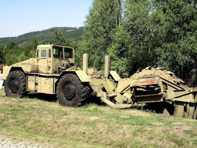 Самые удивительные машины инженерных войск