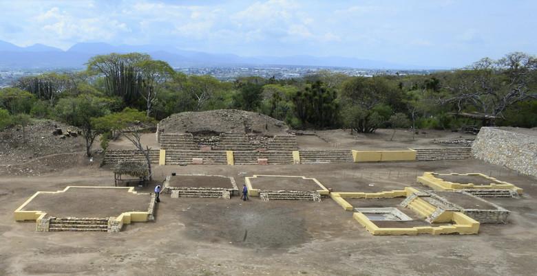 В Мексике впервые нашли храм…