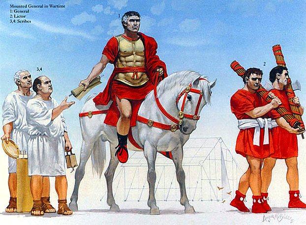 Топор в Древнем Риме
