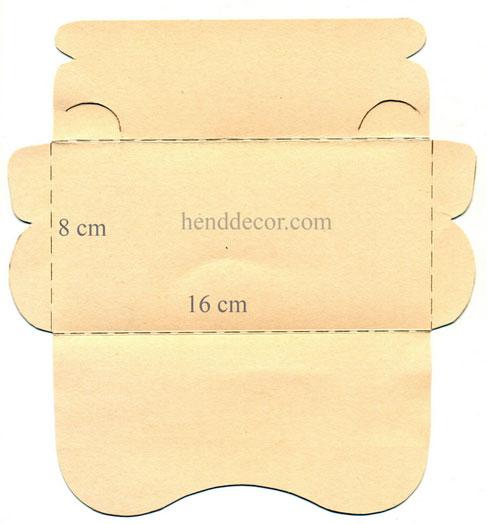 Как украсить конверт своими руками видео