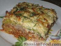 Фото к рецепту: Украинская лазанья