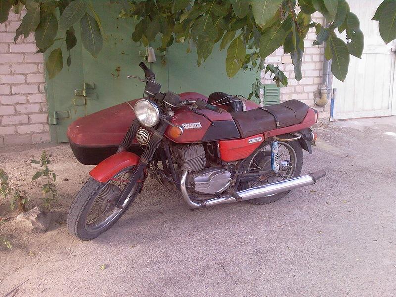 """Рассказ о восстановлении мотоцикла """"Ява"""" 1987 года (61 фото)"""