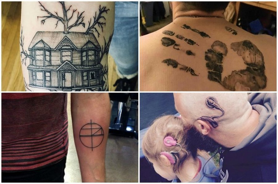 Татуировки на память о знако…