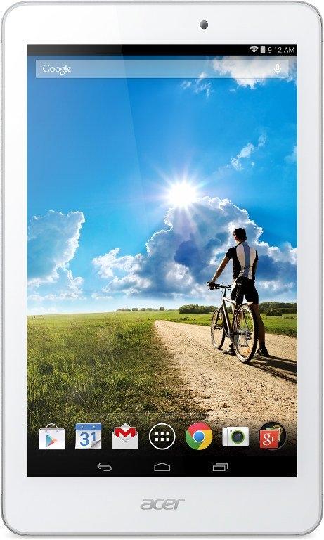 Acer запустит на рынок два недорогих 8-дюймовых планшета