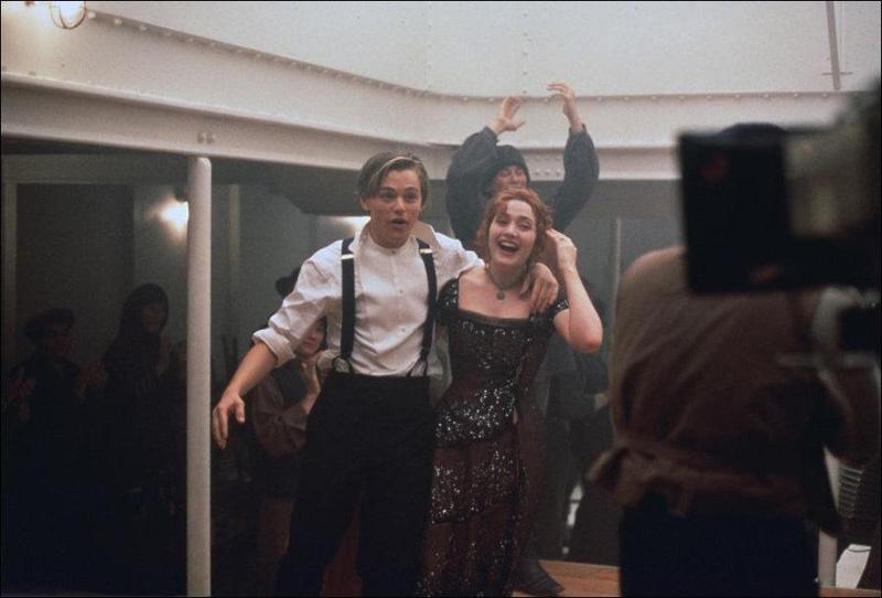 Как снимали «Титаник»: редкие фото со съемок