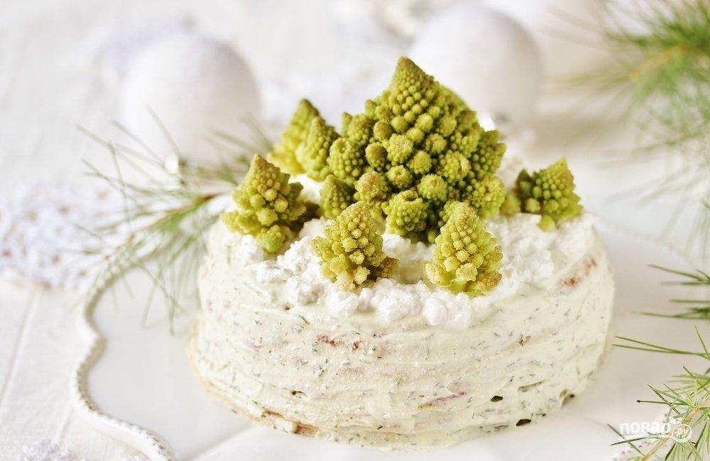 Закусочный пирог на Новый год