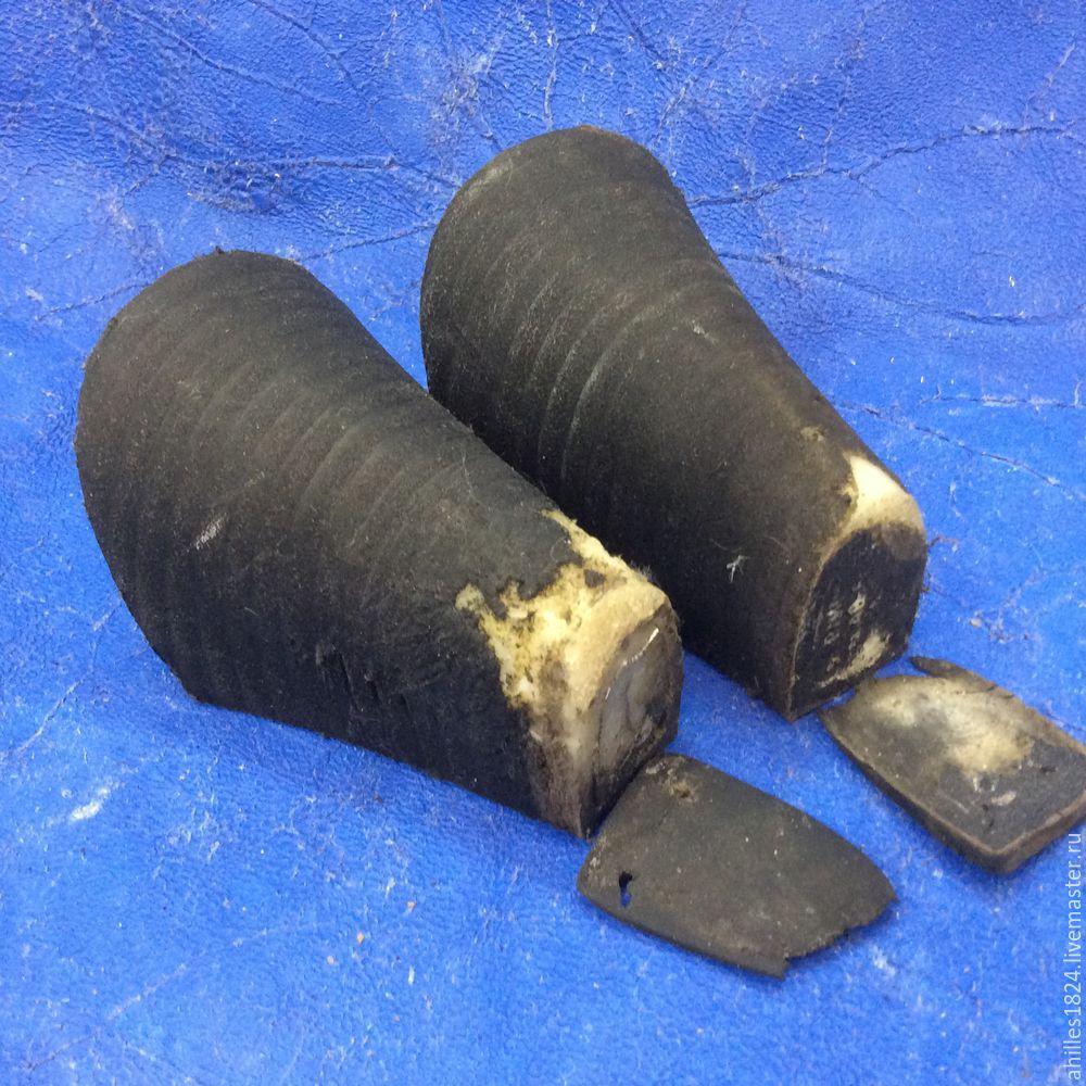 Реставрируем каблуки на любимых сапогах
