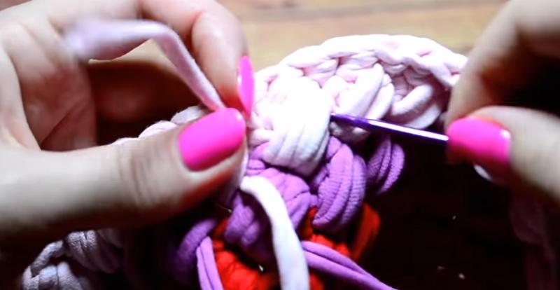 прибавка в вязании крючком
