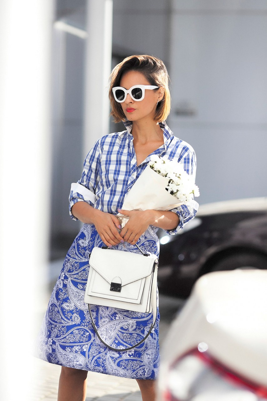 MIXING PRINTS OUTFITS