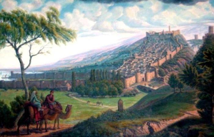 Дербент - самый старый город России, первое упоминание о котором относят к VI веку до н. э.