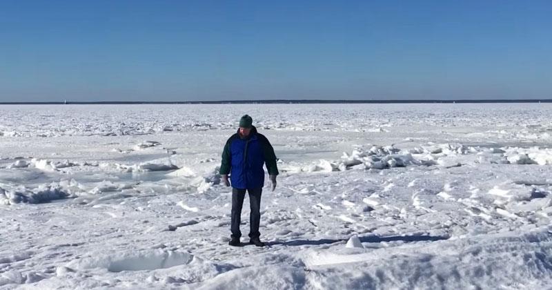 Замерзшая Америка. Холод превратил Массачусетс в Антарктику!
