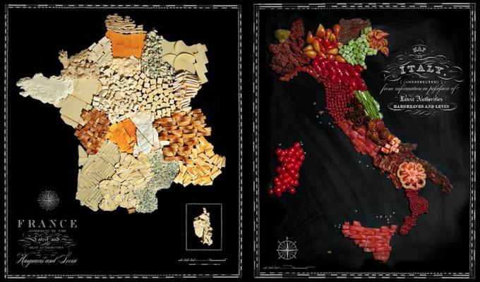 Пищевые карты...