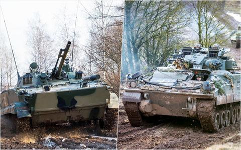 Наша БМП-3 против британского Warrior: артиллерийская дуэль