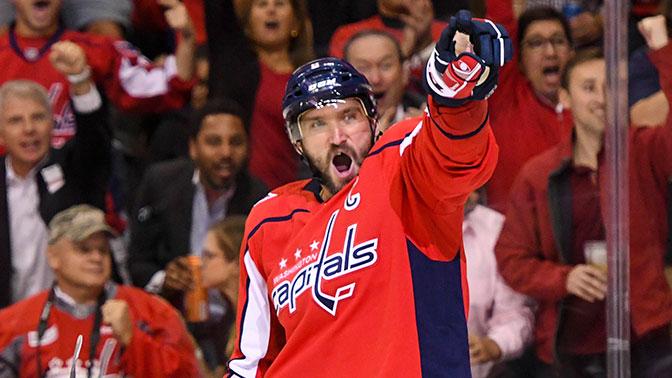 Овечкин вошел в топ-15 лучших снайперов НХЛ.