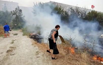 Пожилые супруги погибли из-за природных пожаров под Волгоградом