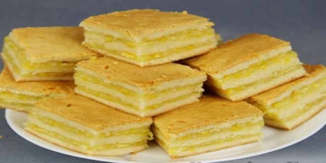 Нежнейшее пирожное с лимонно-апельсиновой начинкой. Рецепт простейший