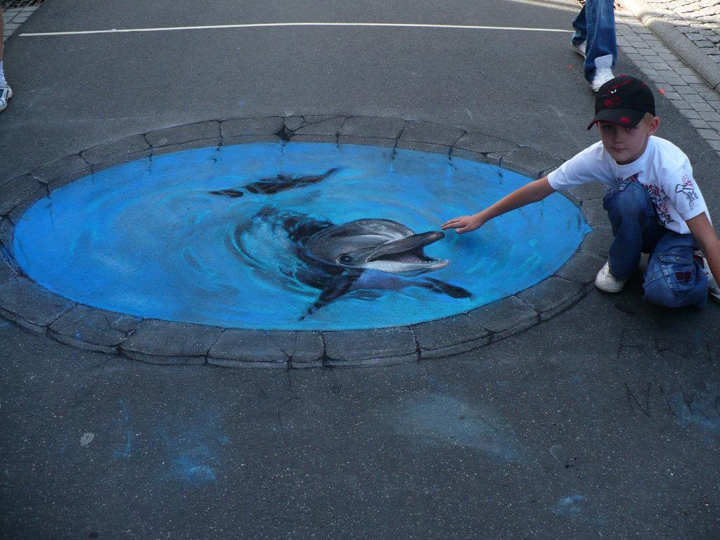 3d 22 Уличные 3D рисунки Николая Арндта
