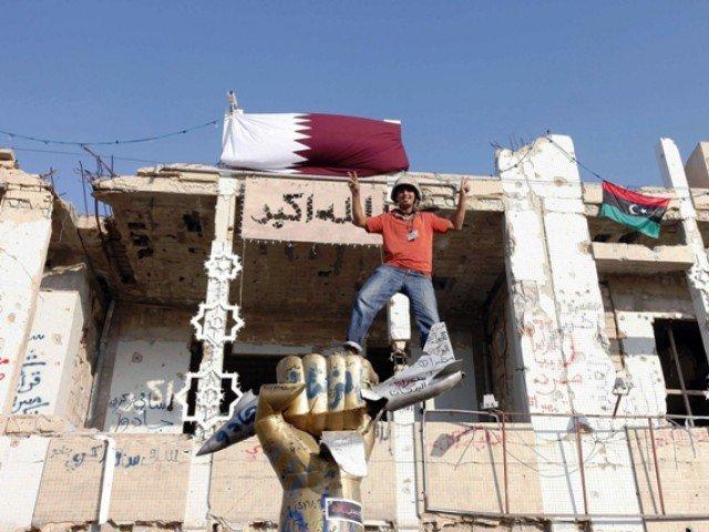 Сухопутные войск ЛАГ, наемники и джихадисты во время вторжения в Ливию