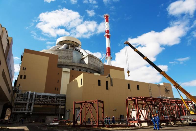 В России запустили реактор нового поколения ВВЭР-1200