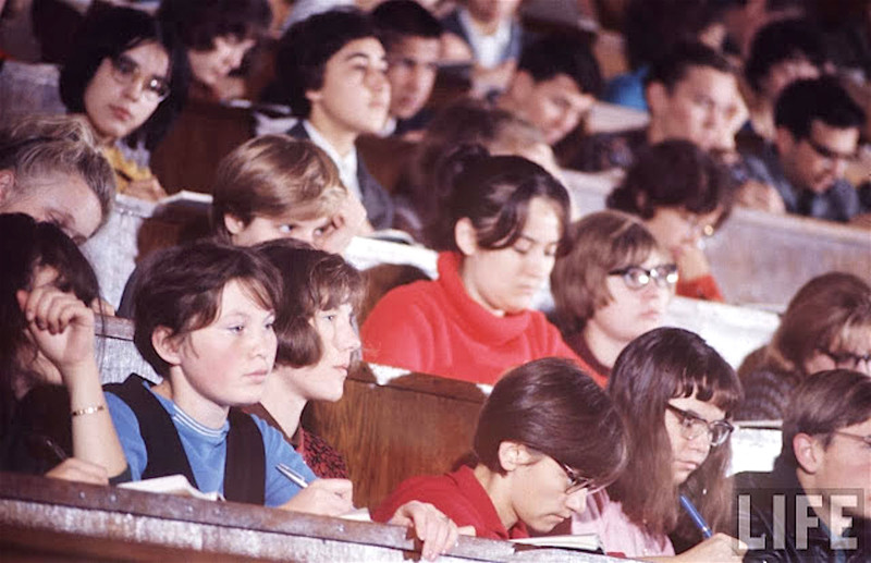 Как жила советская молодёжь в 1967 году. Снимал американский фотограф Билл Эппридж 49