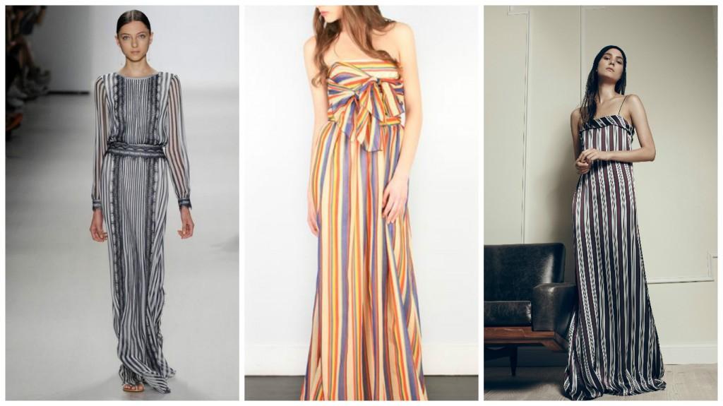 Как носить макси-платье при невысоком росте