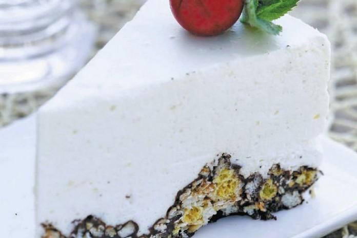 Воздушный торт из мюсли — во…