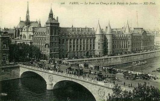 75-Paris-Pont_au_change_et_palais_de_Justice-vers_1900