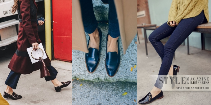 Актуальная обувь на тёплую осень