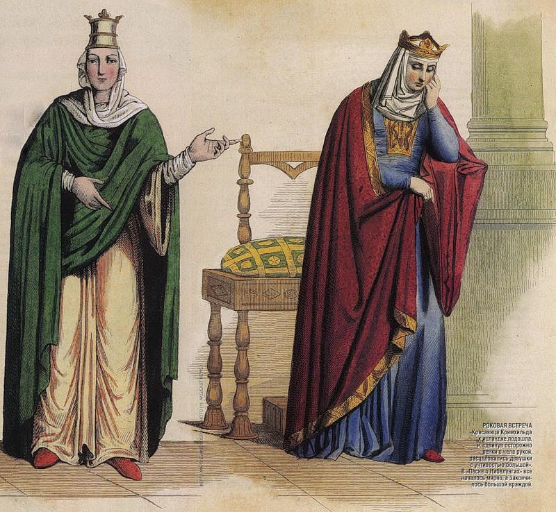 Кровавые королевы Меровингов