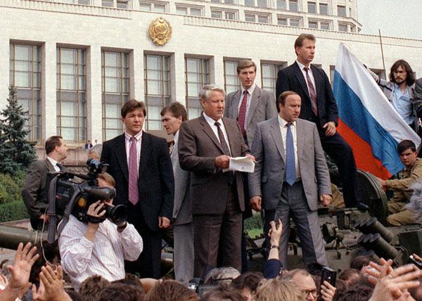 В августе 1991-го путчистом был Ельцин!