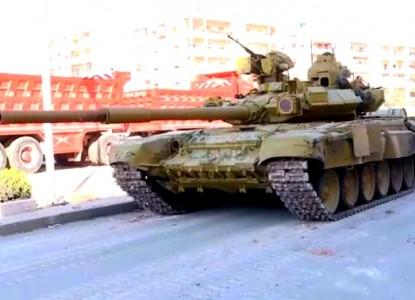 Сирийская кампания показала потрясающие характеристики танка Т-90