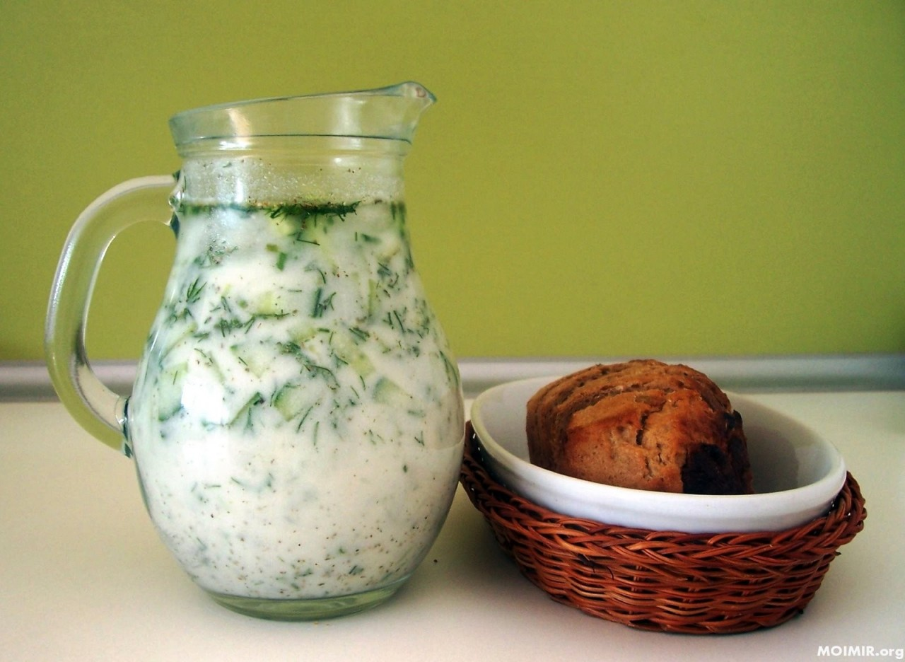 Самый потрясающий и Самый вкусный летний суп! «Таратор»