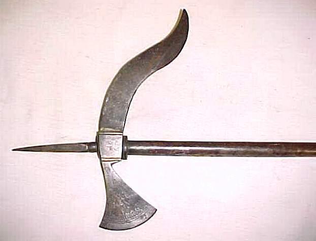 Клевец - боевой топор