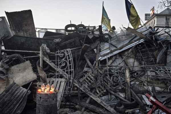 В убогой «Новой газете» порадовались пятилетию Майдана на Украине