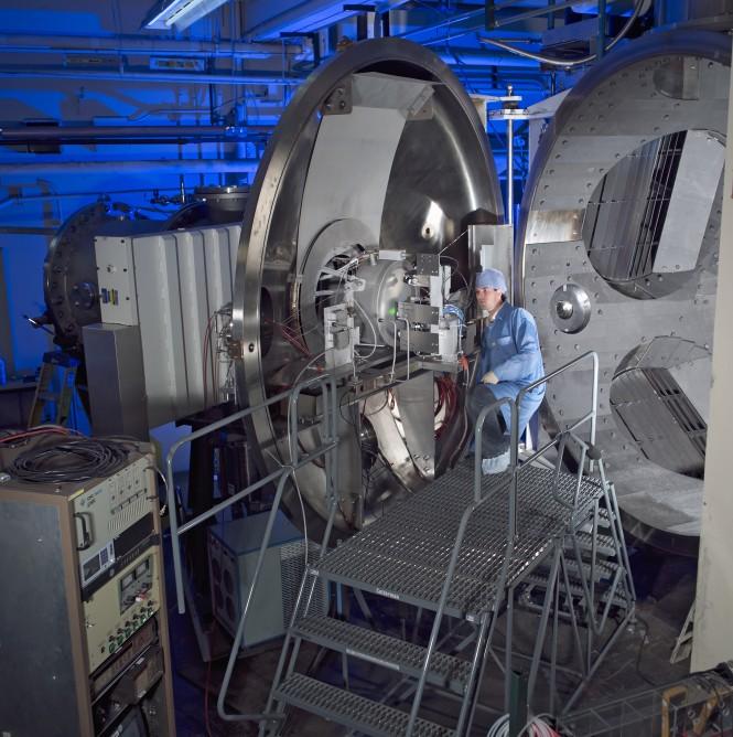 Ракетный двигатель NASA.