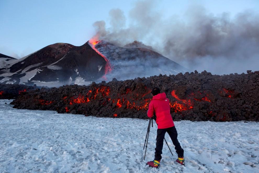 Неугомонная Этна: самый активный вулкан Европы