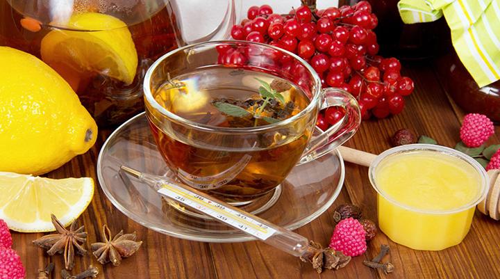 Народные рецепты при простудах и заболеваниях